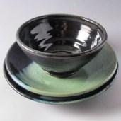 Stoneware bowl set 65