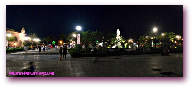 San marko square, Zakynthos.