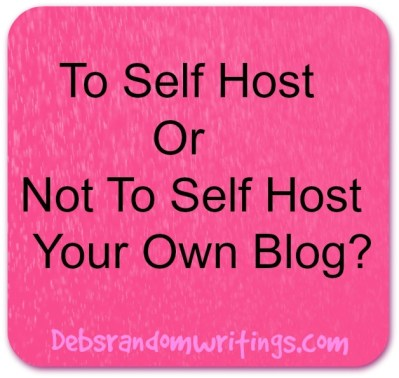 Self hosting a blog