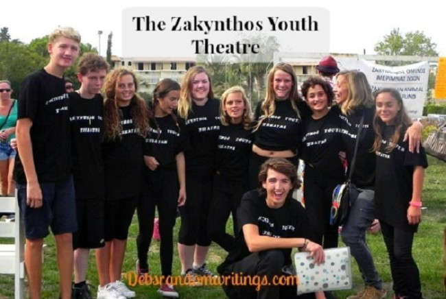 The Zakynthos Youth Theatre Performed At The Annual Dog Show