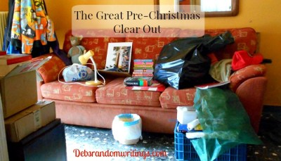 Christmas clear out