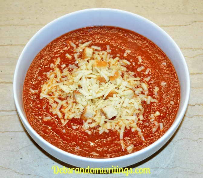 roasted red pepper and fresh tomato soup