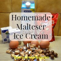 Malteser Ice Cream recipe