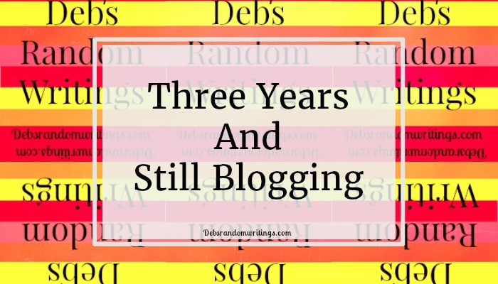 Three Years And Still Blogging