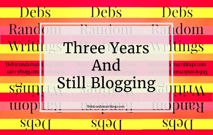 Still blogging
