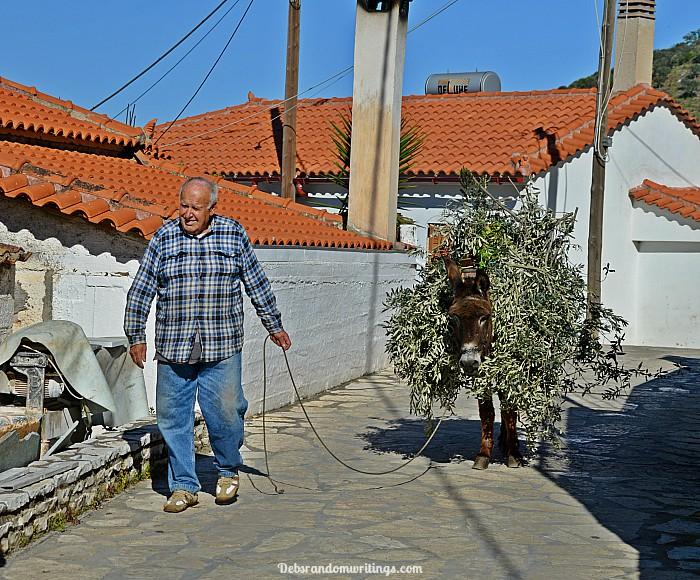 postcard Greece