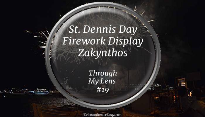 St. Dennis Firework Display, Zakynthos, 2017