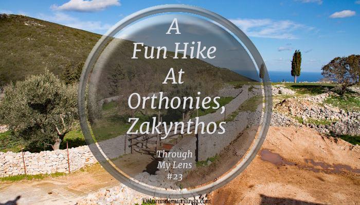 A Fun Hike At Orthonies, Zakynthos