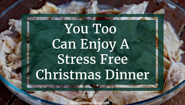 stress free Christmas dinner