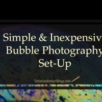 Inexpensive Bubble Photography Set-Up