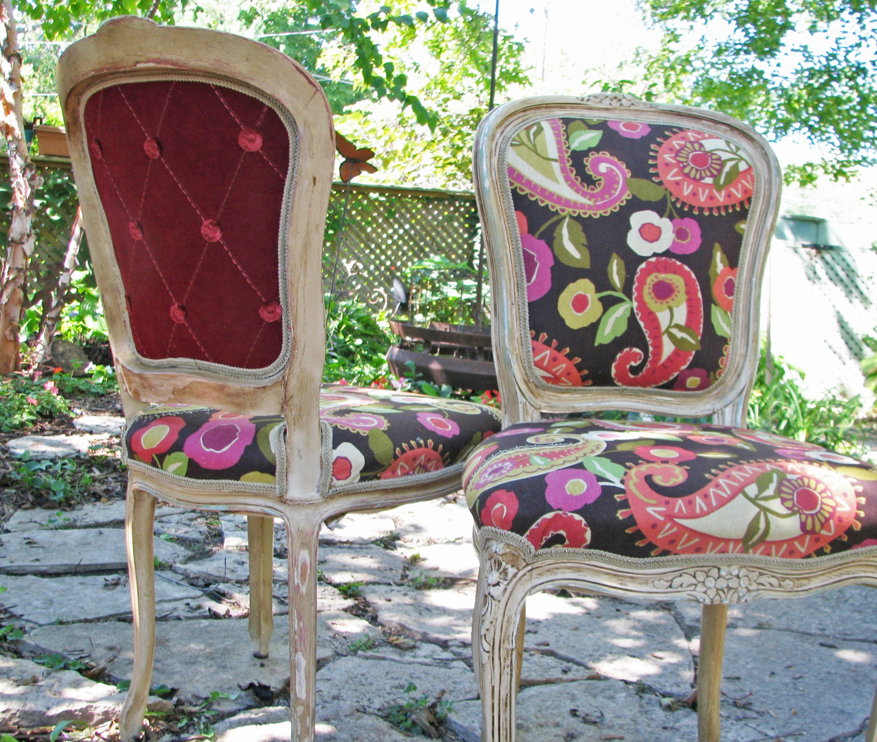 upcycled dining room chairs plastic adirondack canadian tire u p c y l e d art