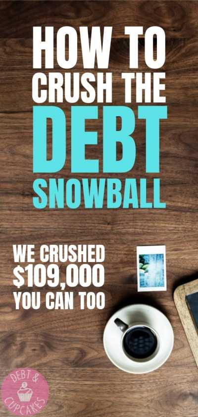 how to crush the debt snowball