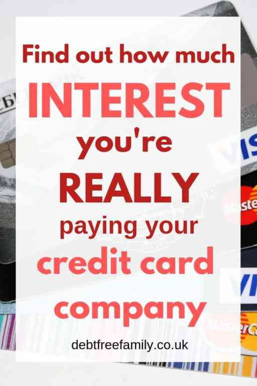 Paying the bank too much interest? Use our credit card calculator and see how much of YOUR minimum payment is really coming off your balance!