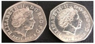 most rare valuable 50p in the uk, whats the most valuable 50p in the uk, 50p worth, are 50ps worth anything