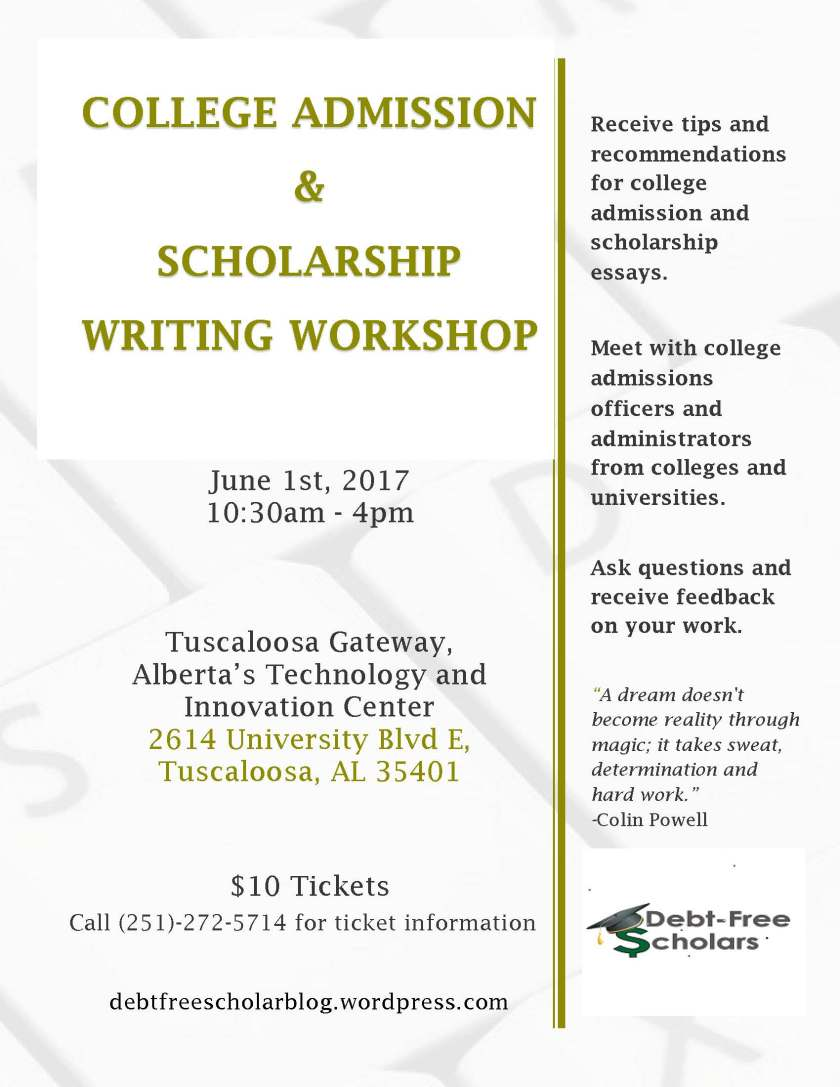 June 2017 Workshop Advertisement