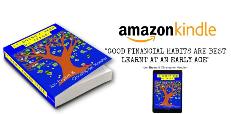 it doesn't grow on trees financial literacy book for kids and parents, teaching kids and money lessons