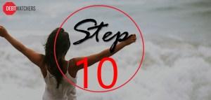 Debt mastery program – Step 10: Get support