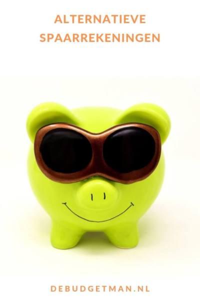 Alternatieve spaarrekeningen #sparen #geld #besparen #DeBudgetman