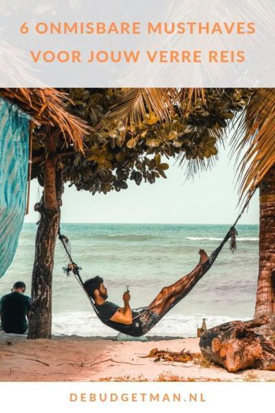 6 onmisbare musthaves voor jouw verre reis #reizen #gadget #musthave #debudgetman