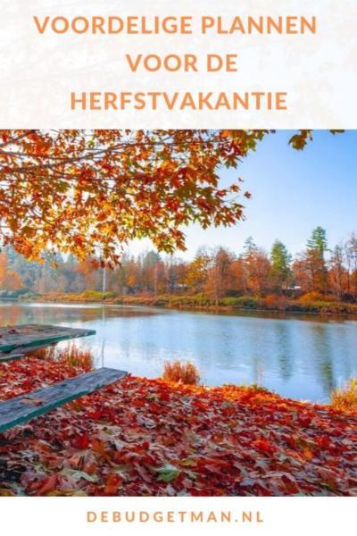 Voordelige plannen voor de herfstvakantie 2019 #reizen #travel #besparen #DeBudgetman