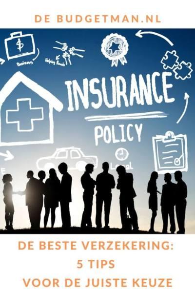 De beste verzekering: 5 tips voor de juiste keuze #geldbesparen #verzekeren #insurance #DeBudgetman
