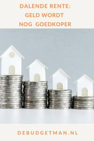 Dalende rente: geld wordt nog goedkoper #geld #lenen #rente #DeBudgetman