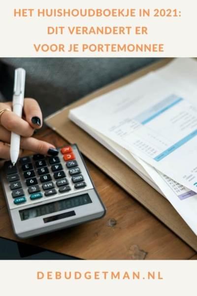 Het huishoudboekje in 2021_ dit verandert er voor je portemonnee #geld #belasting #DeBudgetman