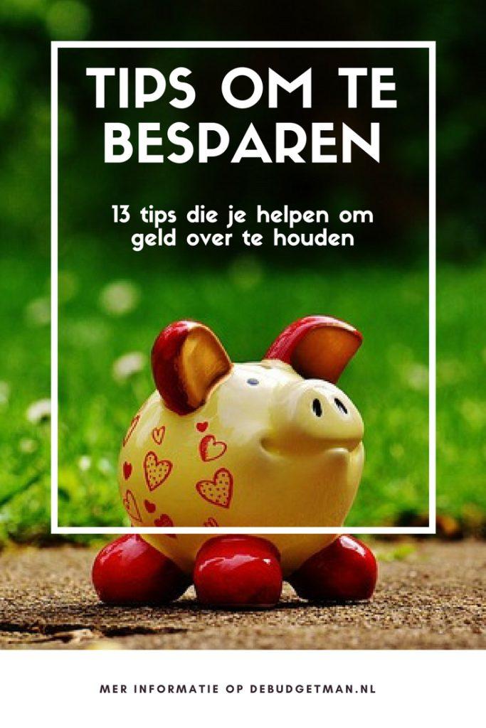 Tips om te besparen. debudgetman.nl
