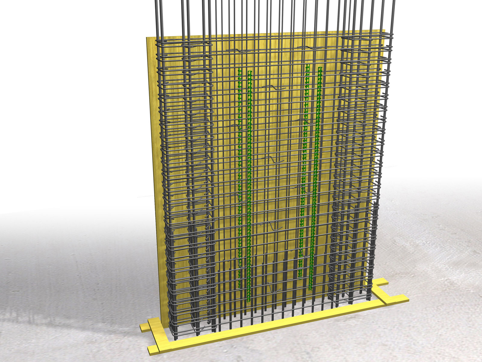 Concrete Rebar Chairs Reinforcement Covering Buildinghow