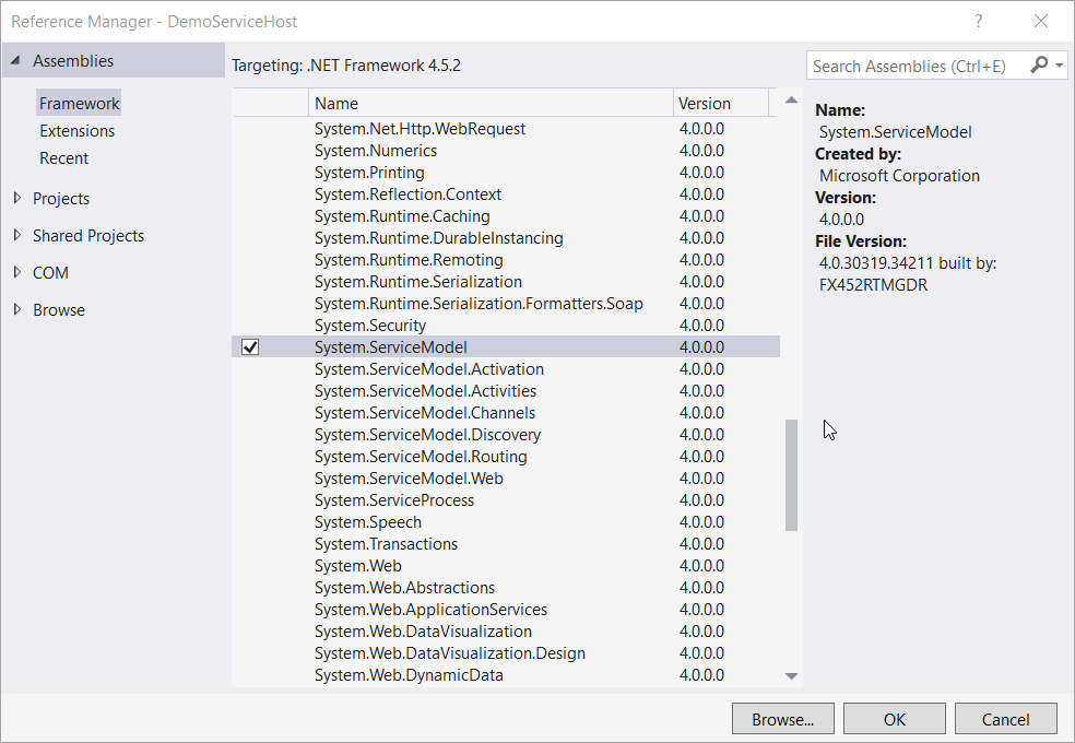Basics Of WCF Service With Hosting And Consuming Using ASP.NET