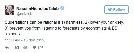 Taleb defends homeopathy