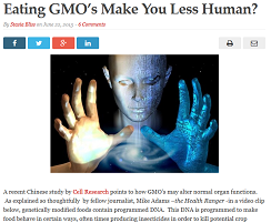 Stasia Bliss' falsehoods about GMOs