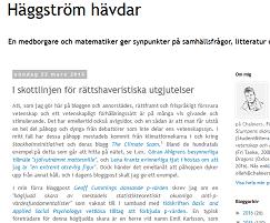 Häggström, round three
