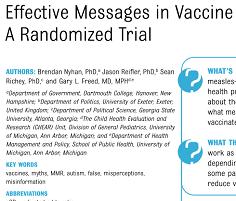 Vaccine hesitation