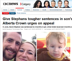 Crown appeals Stephans sentencing
