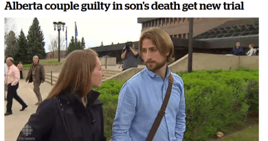 Quacks Who Let Their Son Die Have Convictions Overturned On Technicality
