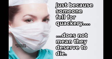 People Who Fell For Quackery Don't Deserve Death