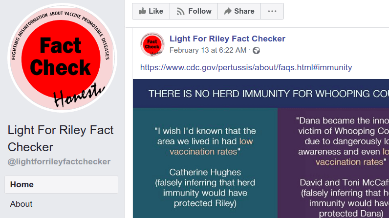 Light for Riley (Fake) Fact-checker