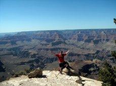 Pádraig beat the Grand Canyon