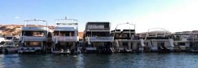Houseboats on Lake Powell