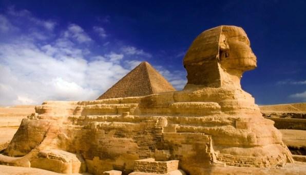 Esfinge no Cairo - Egito