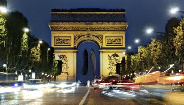 Paris - Arco do Triunfo