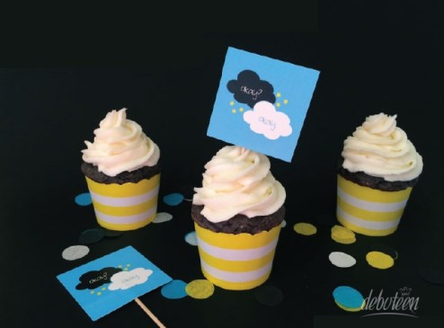 cupcakes A Culpa é das Estrelas