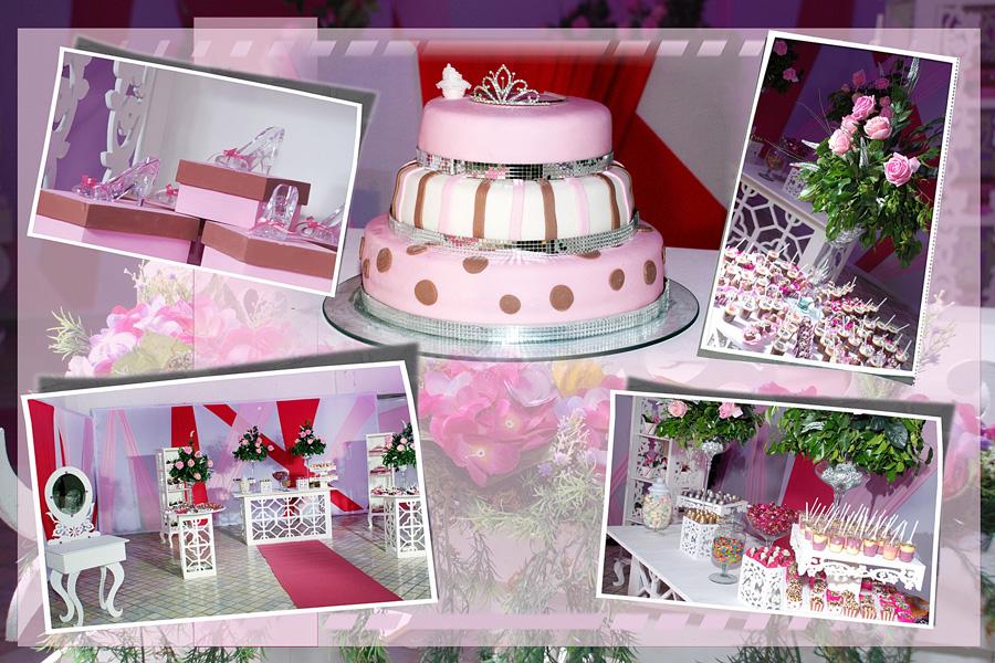 Festa de princesa da Cleo