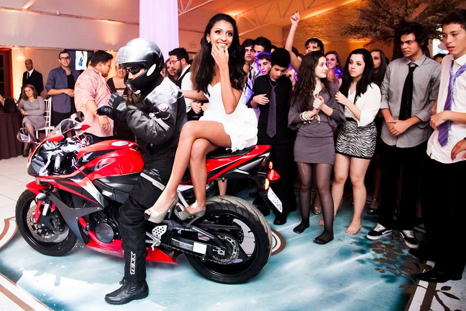 Festa 15 anos - Motocicleta
