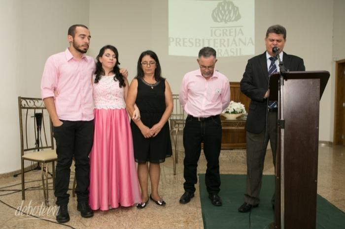Oração na festa de 15 anos