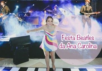 Festa Beatles da Ana