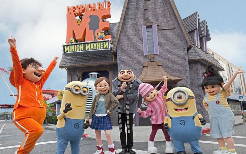 Universal Studios Despicable me Disney - Festa de 15 anos na Disney