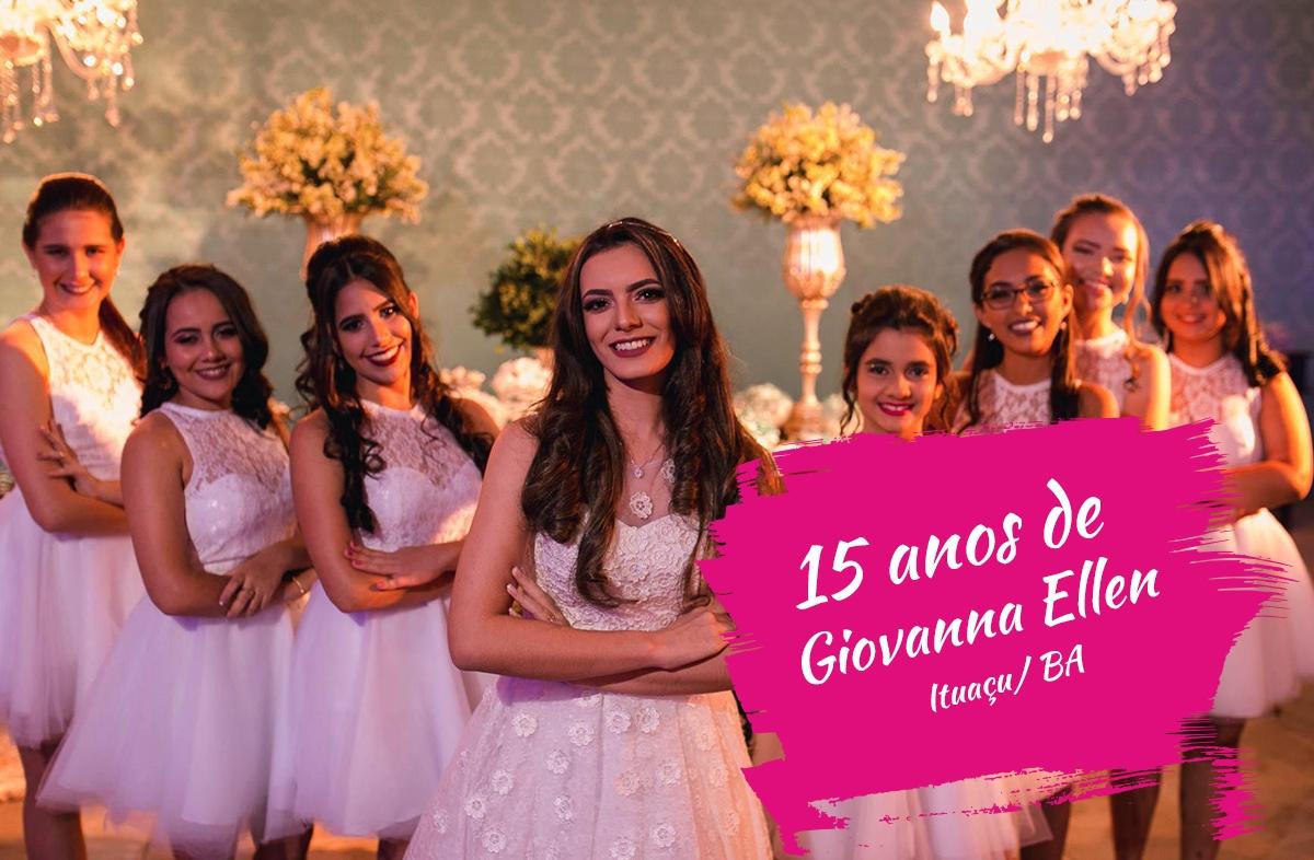 Giovanna Ellen 15 anos