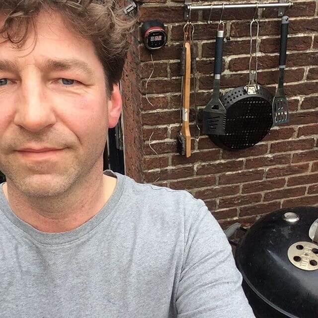 De buurman met de barbecue
